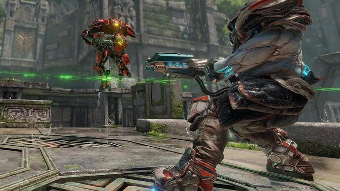 Watch two minutes of uninterrupted Quake Championsgameplay