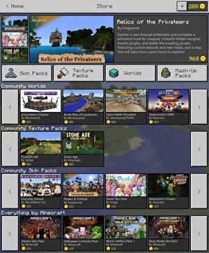 Microsoft reveals Minecraft Store with virtual currency • Eurogamer net