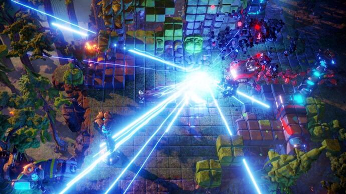 Nex Machina is getting a closed PC beta this month