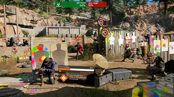 Watch Dogs 2's new paintball rifle is just the kind of non