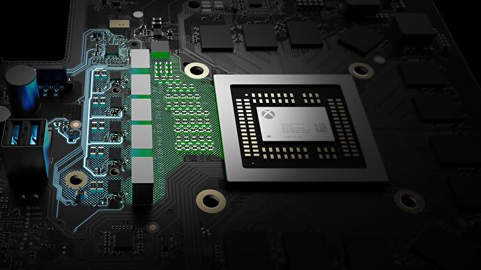 We watched a Scorpio console get put together • Eurogamer net