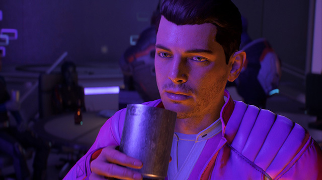 Mass Effect Andromeda: Jerk Ryder Finds a Nightclub (Finally)