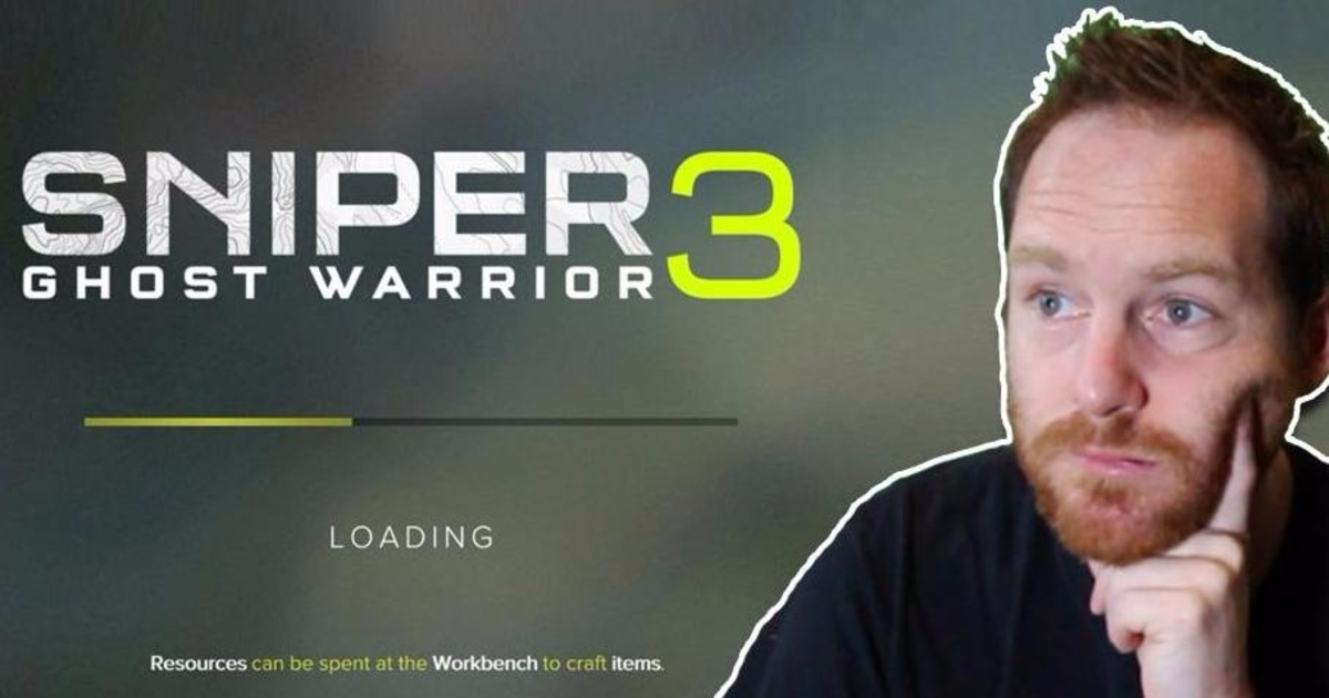 Watch: Sniper Ghost Warrior 3 takes 5 minutes to load. Here's what you can do in that time.