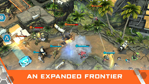 Titanfall Assault is a mobile spin-off strategy game