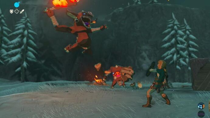 La nuova patch di The Legend of Zelda: Breath of the Wild aggiunge nuove lingue per audio e sottotitoli