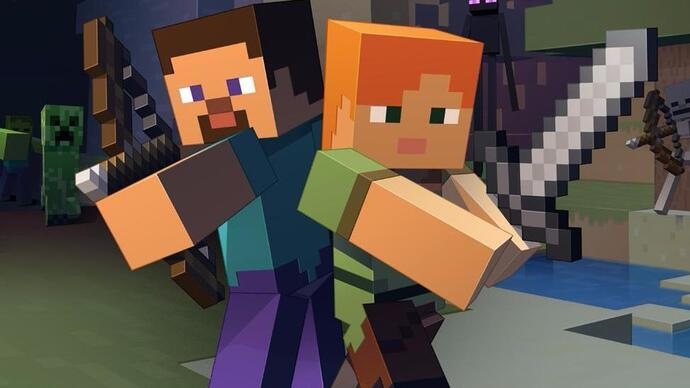 Face-Off: Minecraft on Switch takes on PlayStation 4