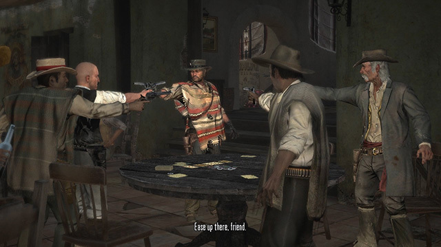 We Get Into Some Sort of Standoff in Red Dead Redemption's Mexico