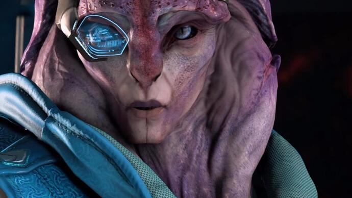Mass Effect Andromeda patch makes Jaal bi
