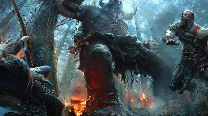 Sony toont nieuwe gameplay God of War