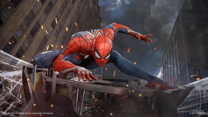 Spider-Man em 8 minutos de gameplay