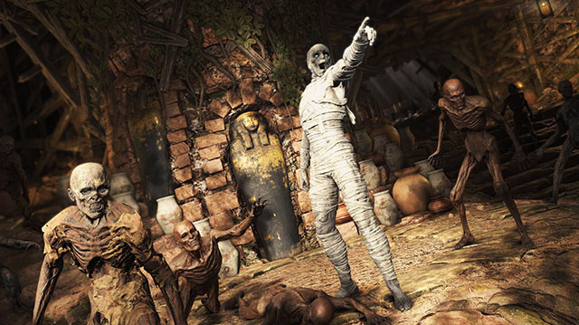 Strange Brigade Has Your Zombie Mummy Co-op Shooter Action Right Here