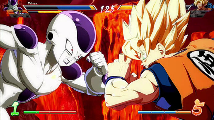Dragon Ball FighterZ partilha mais gameplay