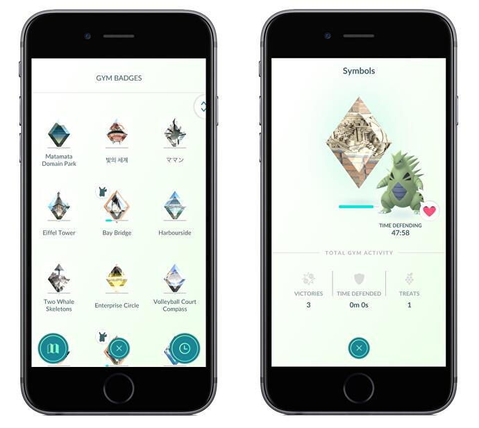 Pokémon Go Gym Badges - How to get Bronze, Silver and Gold Gym