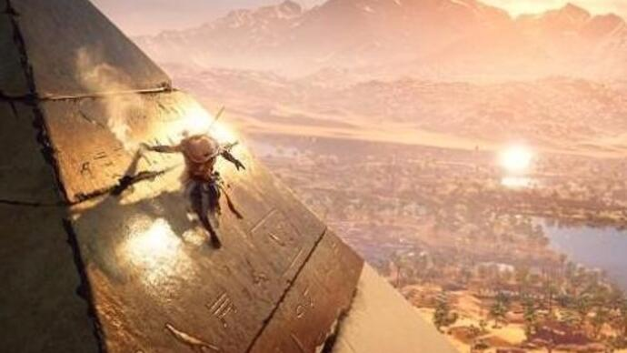 Assassin's Creed Origins hunting, underwater, night gameplay demoed in hour of footage