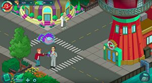Play Futurama Worlds of Tomorrow today Eurogamernet