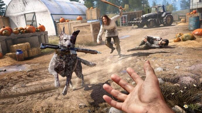 First Far Cry 5 gameplay debuted at Ubisoft E3 show, features good dog