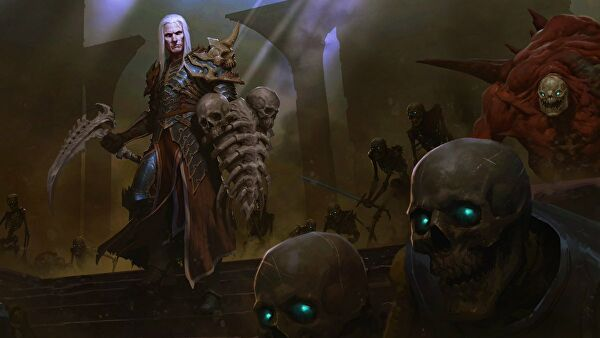 Rise of the Necromancer pack out now for Diablo III