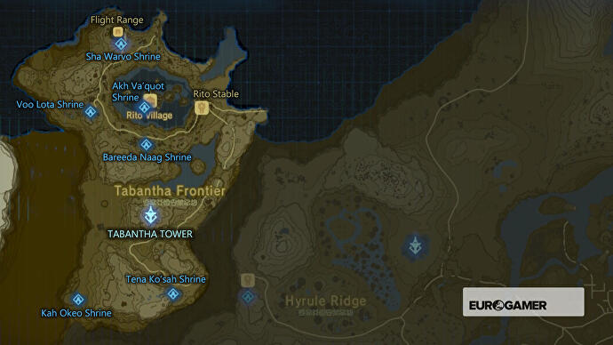 Zelda: Breath of the Wild Shrine locations, Shrine maps for all