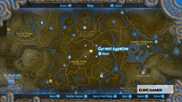 zelda breath of the wild schrein karte
