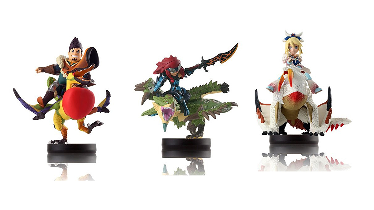 Jelly Deals Monster Hunter Stories Amiibo Figures Down To 7 91