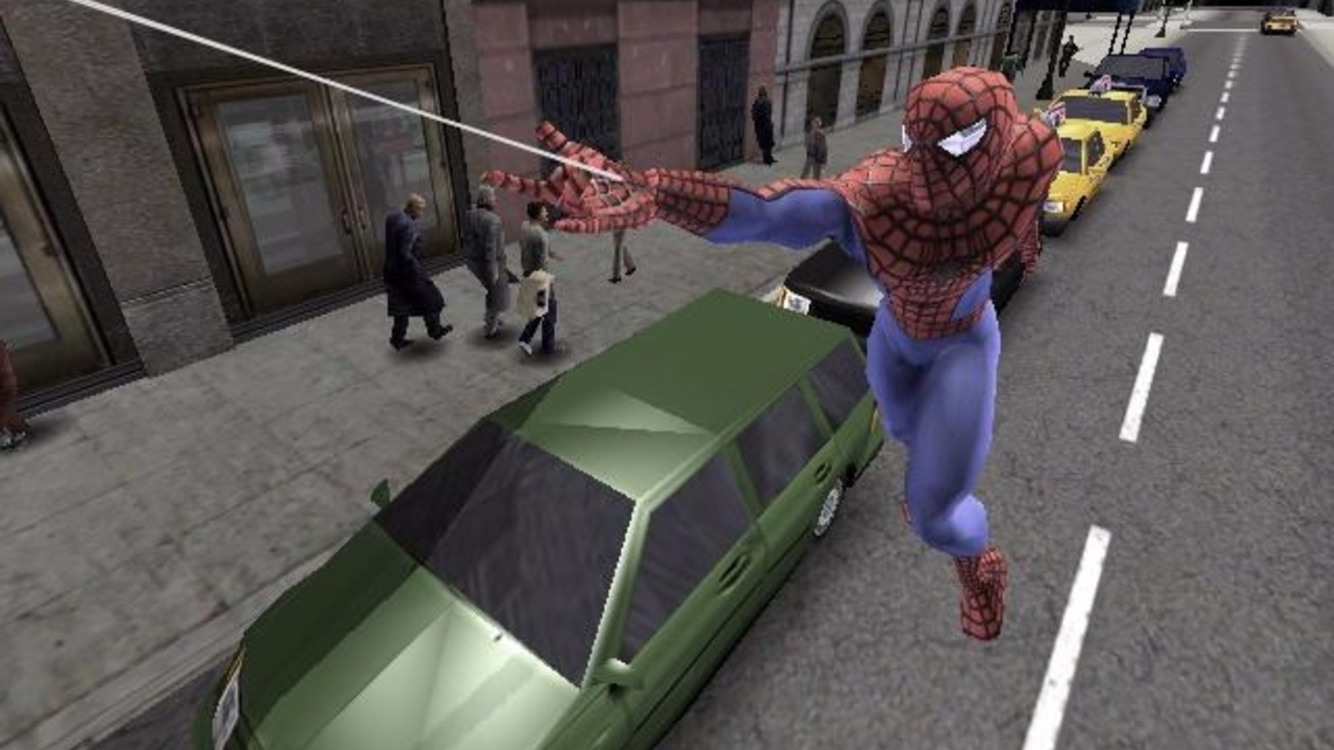 13 years later, spider-man 2's swinging has never been bettered