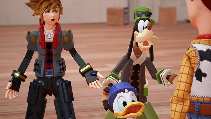 Kingdom Hearts III: un nuovo trailer rivela un nuovo Toy Story World
