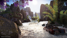 PS4 Pro additions for The Lost Legacy are in line with Uncharted 4's support, with 1440p resolution and full HDR but with the framerate in single player keeping to 30fps.