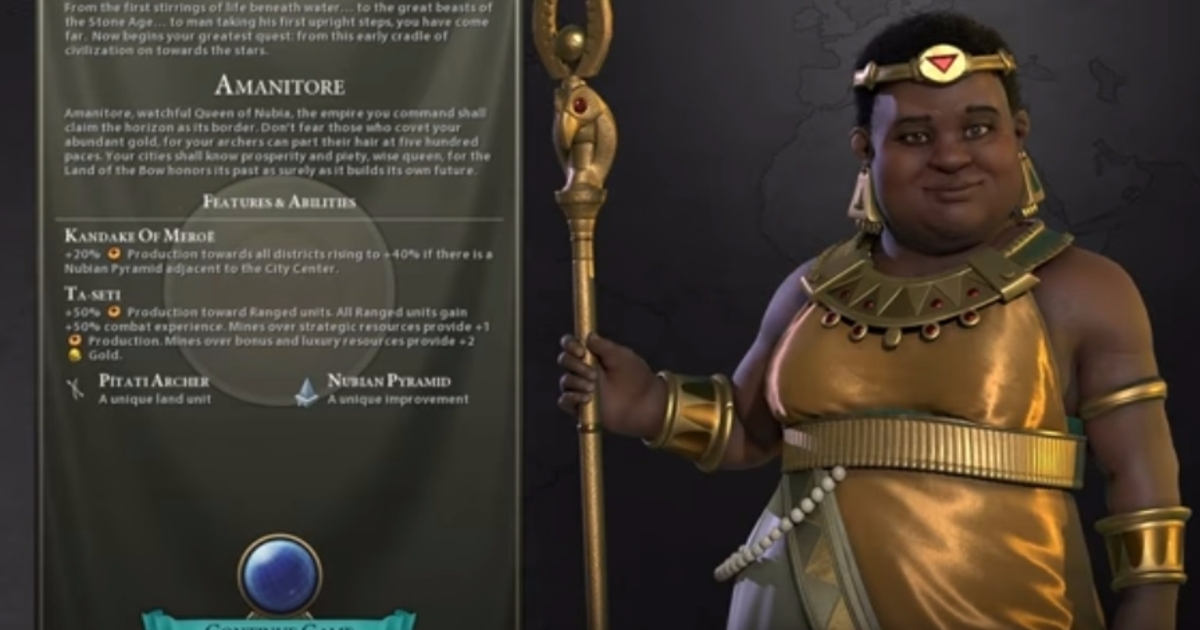 Civilization 6 Introduces Nubia As Next Civ Eurogamer Net