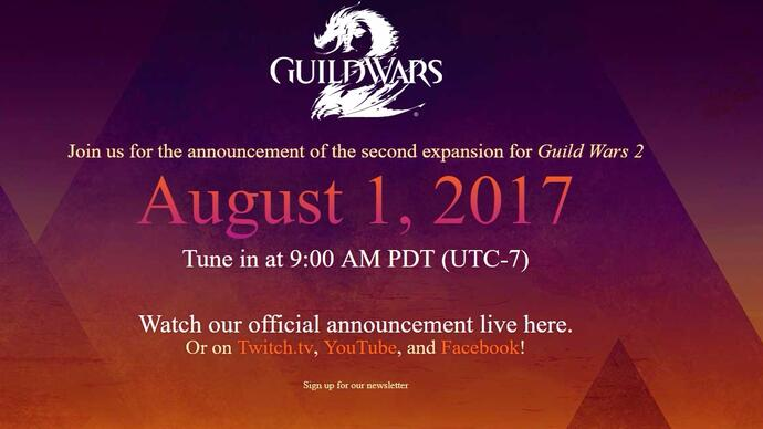 Guild Wars 2 new expansion announcement next week