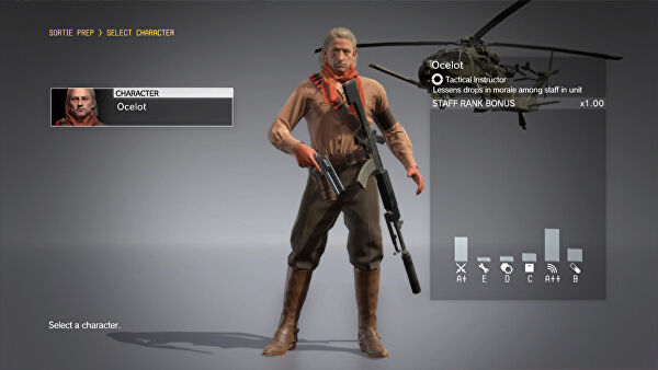 New Metal Gear Solid 5 Update Coming Soon, Adds Playable Revolver Ocelot