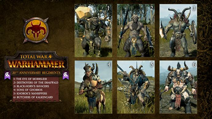 Total War: Warhammer gifts 30 new elite units as a birthday