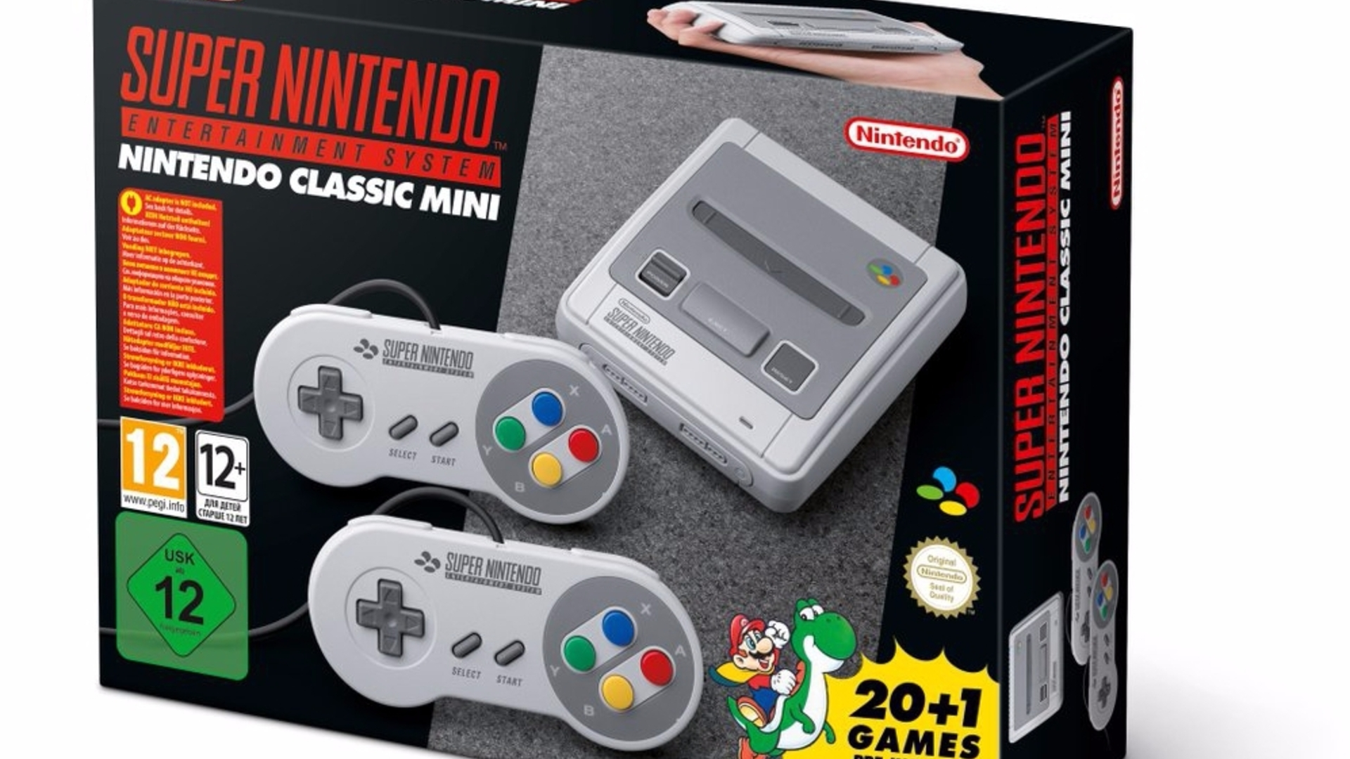 SNES Classic - games list, controllers and specs, UK pre-order ...