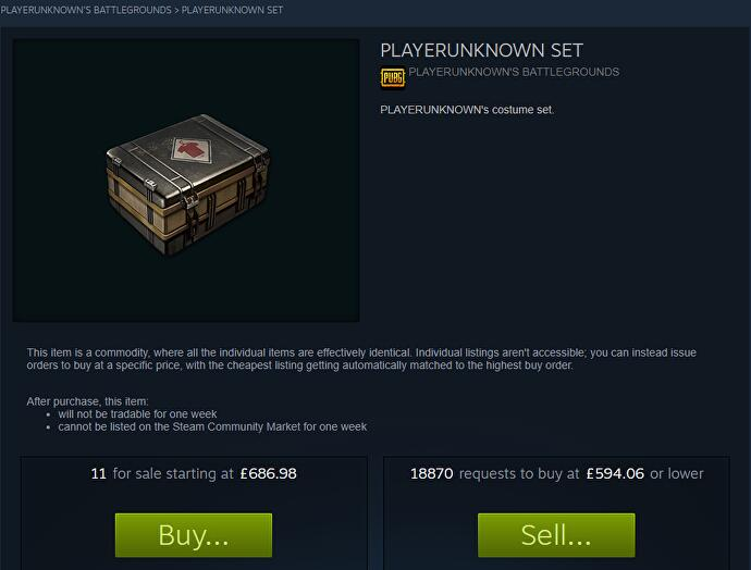 A PlayerUnknowns Battlegrounds miniskirt is selling for over