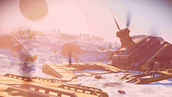 Atlas Rises update attempts to make No Man's Sky a thing again