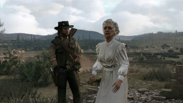 Things Get Stranger in Red Dead Redemption