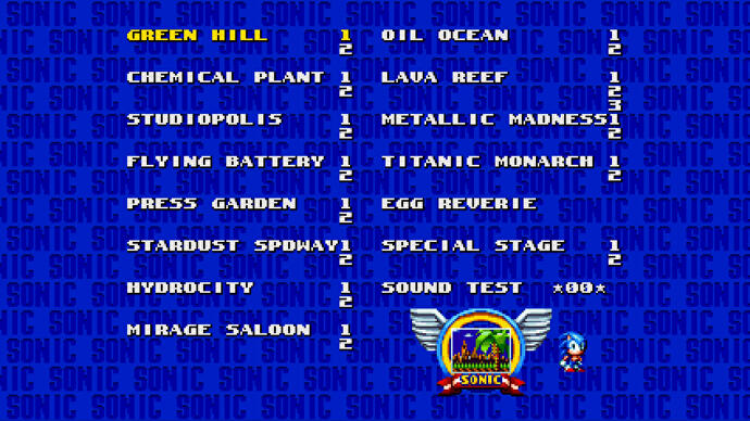 Sonic Mania cheats: Level Select, Debug mode, Super Peel Out