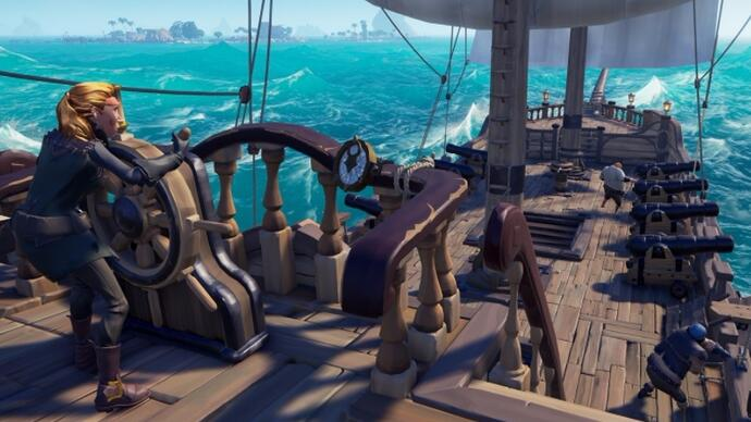 Rare confirms Sea of Thieves cross-platform play for PC and Xbox One