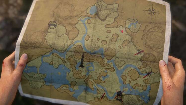 uncharted the lost legacy map locations