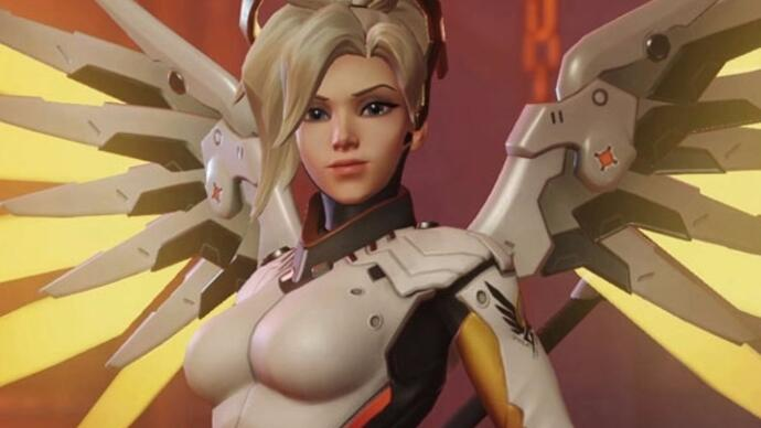 Overwatch update to let Mercy resurrect players as a regular move