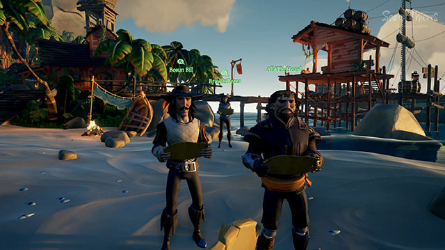Captain Andy Sets Sail For Adventure in Sea of Thieves Gameplay