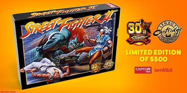 Capcom re-releasing Street Fighter 2 on a SNES cart with one