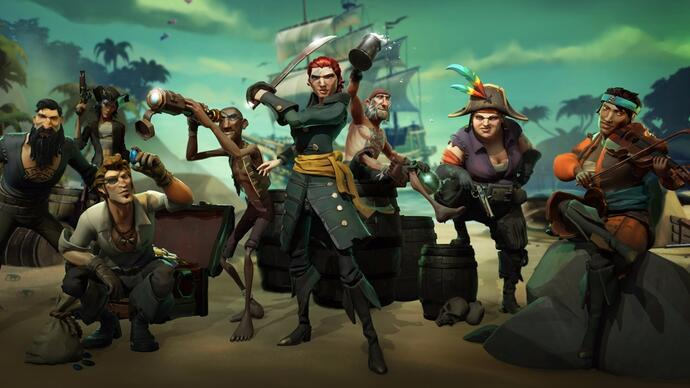 Novo gameplay de Sea of Thieves