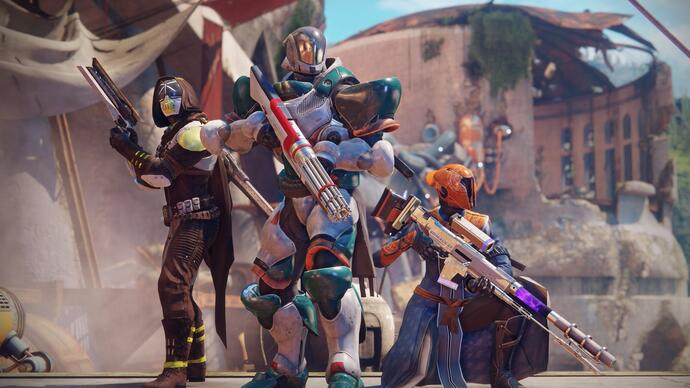 Destiny 2 PS4 exclusive content - PlayStation 4's Lake of Shadows strike, City Apex ship, Borealis weapon, exclusive armour and Retribution map detailed