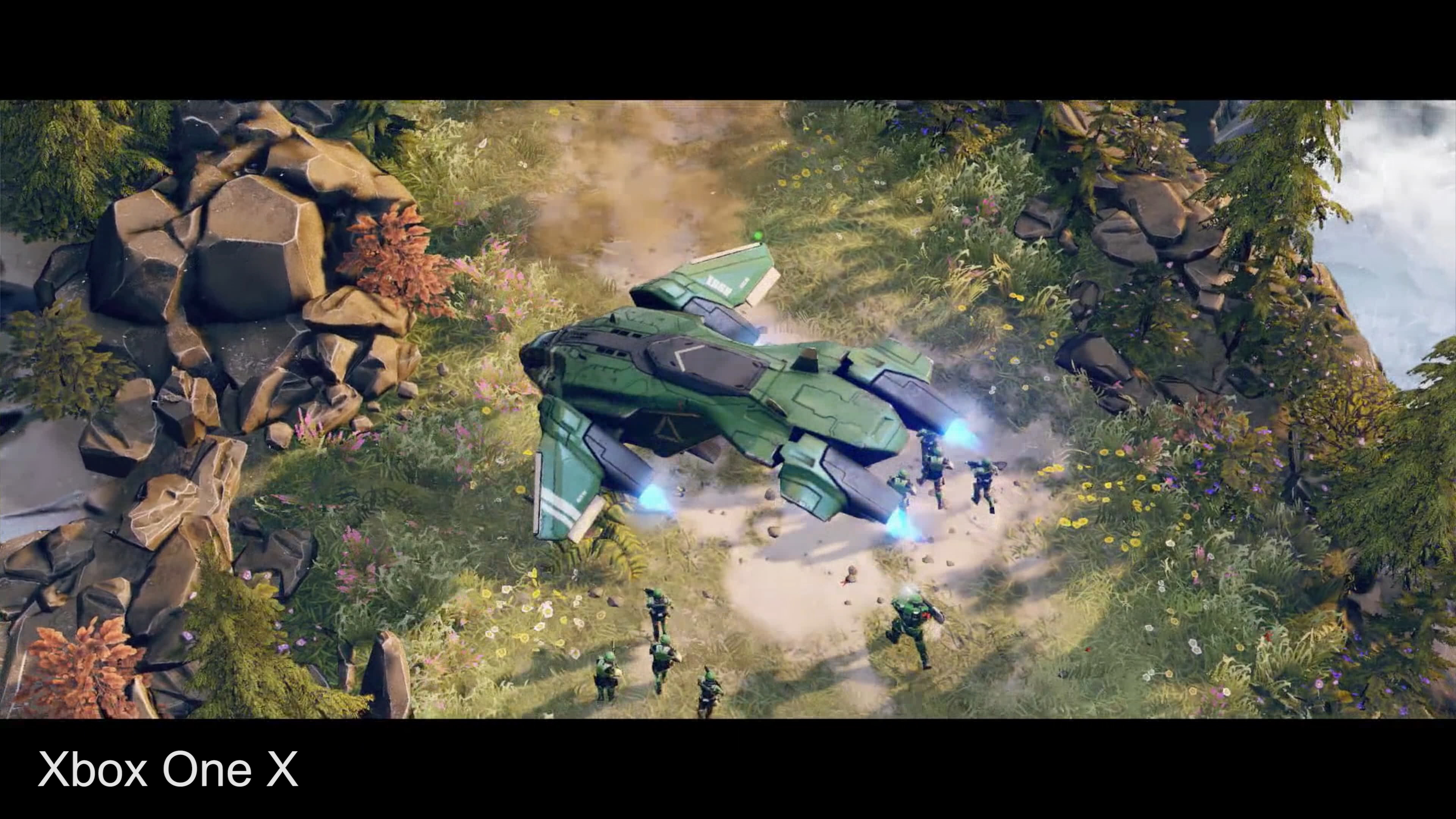 halo wars 2 how xbox one x compares to base hardware and pc