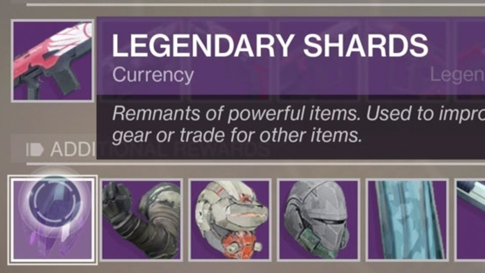 Destiny 2 Legendary Shards How To Get And Spend The Valuable Way Switch Meaning Resource