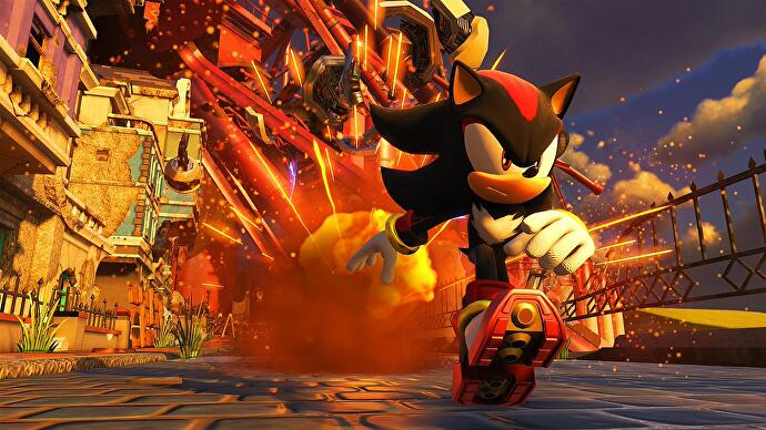 Sonic Forces will let you play as Shadow the Hedgehog