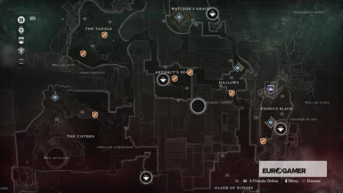 Destiny 2 Microphasic Datalattice sources, Nessus Challenges