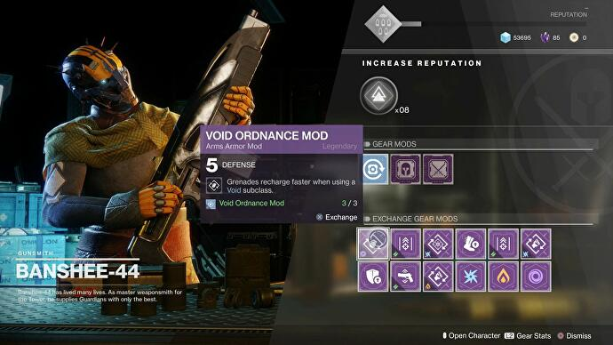 Destiny 2 Mods, Infusion explained, and when to decrypt