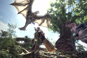 Monster Hunter World: la modalità co op per quattro giocatori protagonista di un video