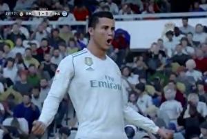 "Cristiano Ronaldo's famous ""Siiiiii!"" celebration is in FIFA 18 and it sounds hilariously bad"